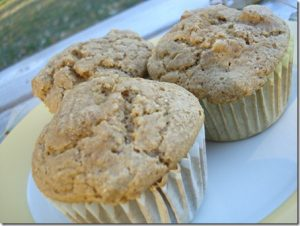 apple spiced muffins